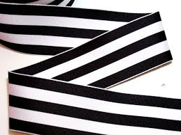 black and white striped ribbon wired ribbon black and white stripe grosgrain wired fabric ribbon
