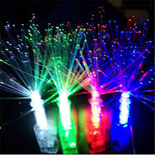 led light up rings 10 pcs lot peacock finger light colorful led light up rings party