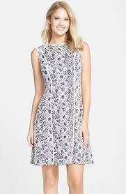 ivanka trump floral u0026 stripe crepe sheath dress available at