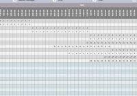 free weekly schedule templates for excel u2013 smartsheet with regard