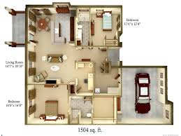 small cottage floor plans bedroom cabin plans ideas log bedrooms style split level
