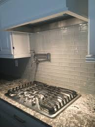 kitchen love this glass tile backsplash could paint watercolor