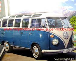 volkswagen type 6 vw typ 2 t1 samba bus revell 07009