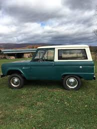 ford bronco 2017 completely original 1966 ford bronco offroad for sale