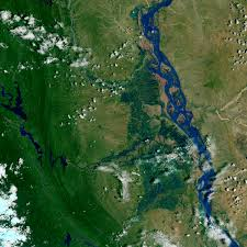 Irrawaddy River Map Flood Waters On The Irrawaddy Natural Hazards