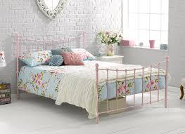 jasmine pink metal bed frame dreams