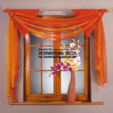 Different Styles Of Kitchen Curtains Decorating Kitchen Design Modern Orange Kitchen Curtains Scarf Style