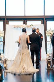 wedding center nick abby gold blush winter wedding at hill in mukilteo