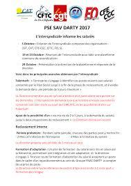 darty si e l intersyndicale darty informe les salariés la cgt darty ile de