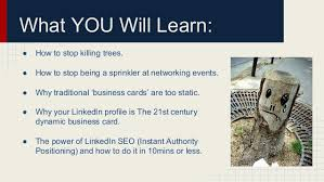 How To Do Business Cards Why U201cbusiness Cards U201d Are For Losers U2026 And Linkedin Seo