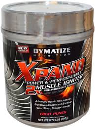 dymatize nutrition xpand 2x muscle igniter pre workout formula fruit