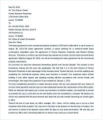 19 termination letter sample u2013 how it should be written and edited