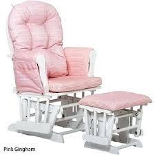 Baby Nursery Rocking Chairs Glider Ottoman Set Baby Nursery Furniture Chair Cherry Wood