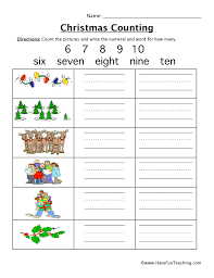 christmas worksheets have fun teaching