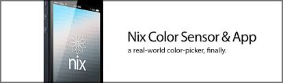 nix color sensor and app the real world color picker for artists