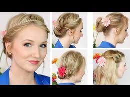 Hochsteckfrisurenen D Ne Haare by Süße Frühlings Sommer Frisuren Für Mittellange Haare