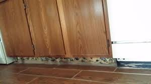 how is a cabinet toe kick no toe kick the kitchen cabinets picture of hawthorn