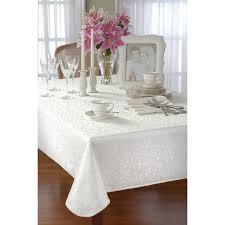 Round Decorator Table by Amazon Com Lenox Opal Innocence 90 Inch Round Tablecloth Ivory