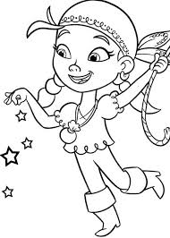 jake neverland pirates coloring pages funycoloring