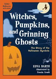 halloween text symbols witches pumpkins and grinning ghosts the story of the halloween