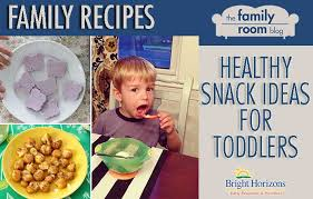 healthy snack ideas recipes bright horizons