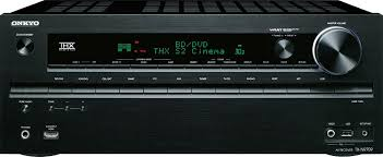 av receiver home theater amazon com onkyo tx nr709 7 2 channel network a v receiver black
