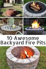 Firepit In Backyard 10 Awesome Backyard Pits Spark