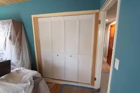 Bathroom Closet Door Ideas Bifold Closet Door Bifold Closet Door Pulls Knob Options For