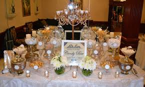 Candy Buffet Wedding Ideas by White And Gold Wedding Candy Buffet Candy Bars Pinterest