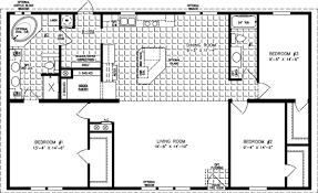 3 Bedroom 2 Bath Mobile Home Floor Plans Floor Plans For Central Mobile Homes For Jacobsen Manufactured