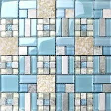 blue tile backsplash kitchen tiles kitchen blue glass blend mosaic marble