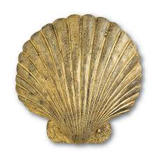 Real Seashell Cabinet Knobs by Gold Leaf Seashell Wall Sconce The Designer Insider