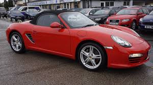 porsche boxster red used porsche boxster for sale rac cars