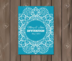 Free Invitation Cards Template Wedding Invitation Card Template On A Wooden Background Vintage