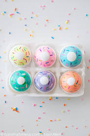 Easter Egg Decorating Ideas Paint by Kara U0027s Party Ideas Diy Doughnut Easter Eggs Kara U0027s Party Ideas