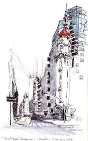 st nikolauskleinseite prag cz sketches watercolor and urban