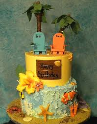 Tropical Theme Birthday Cake - flickriver most interesting photos tagged with tropicalcake