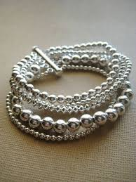 beaded silver bracelet images Best 25 silver bracelets ideas sterling silver jpg