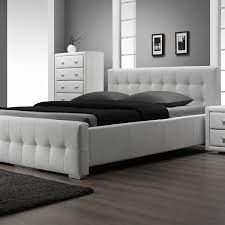 king size bed frame with headboard and footboard attachments full