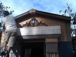 building a mausoleum facade for halloween youtube