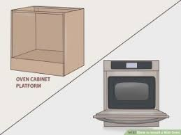 how to install a wall oven in a base cabinet install your wall oven household appliances