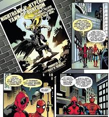 spider man deadpool mock u0027batman superman u0027 latest comic