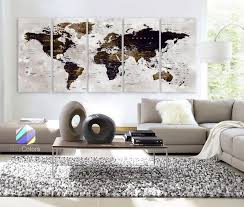 home interior framed products tagged wonders of the world map boxcolors
