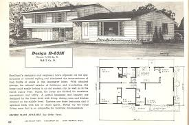 Rambler House Plans Exciting 1950s House Plans Pictures Best Inspiration Home Design