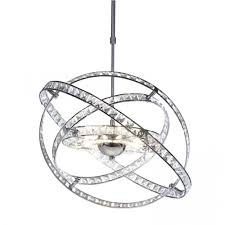 Chrome Ceiling Lights Uk Dar Lighting Eternity 10 Light Modern Ceiling Light