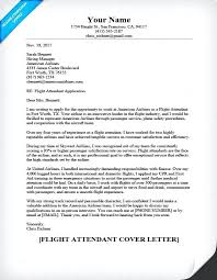sample resume flight attendant flight attendant cover letter
