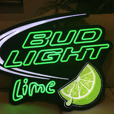 bud light light up sign find more bud light lime opti neon sign for sale at up to 90 off