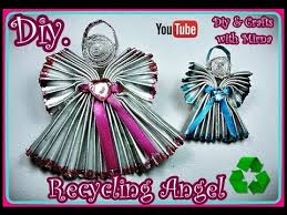 diy how to make a little angel recycling diy u0026 crafts with mirna