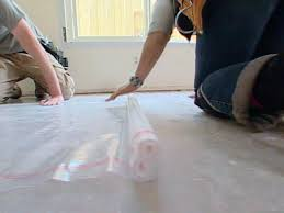 Laminate Flooring How To Lay How To Installing Floating Wooden Floors Hgtv