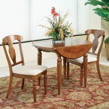 Bassett Dining Room Sets Bassett Mirror Charles X Round Dining Table W Drop Leaf Flap Stores